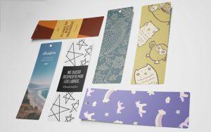 Separadores de Libros Creativos Ejemplo Impreso
