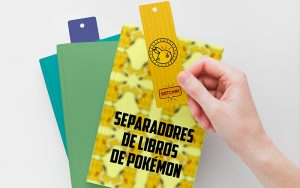 Imprimir Separadores de Libros de Pokémon