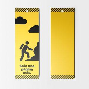 Separador de Libros Amarillo Escalar Paginas