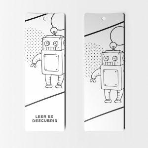 Separadores Originales Robot Leer es Descubrir