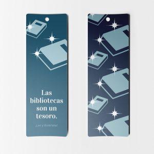 Separadores de Libros Bibliotecas son un tesoro