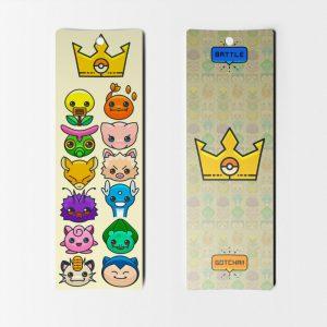 Separadores de Libros de Pokémon N° 5