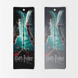 Separadores de libros Harry Potter 12