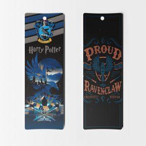 Separadores de libros Harry Potter casa Ravenclaw miniatura