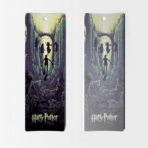 Separadores de libros Harry Potter el caliz de fuego