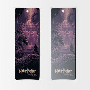 Separadores de libros Harry Potter la camara de los secretos