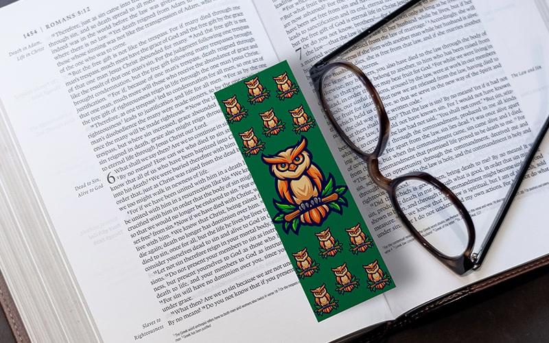 separadores de libros de búhos para imprimir gratis