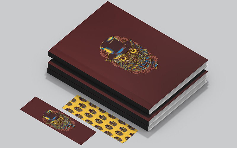 separadores de libros de búhos para imprimir